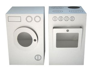 Washing Machine and Stove