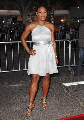 Serena Williams at the Westwood Premiere of Universal Pictures' The Kingdom