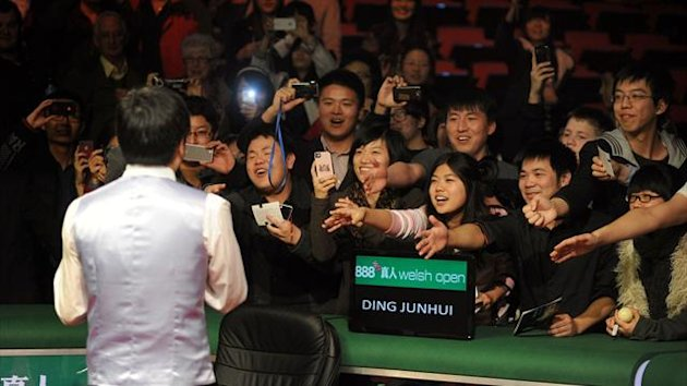 Ding wins the 2012 Welsh Open