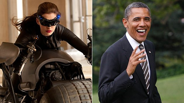 Obama Praises Anne Hathaway&#39;s Catwoman