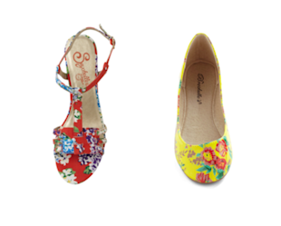 Flower power on your feet!