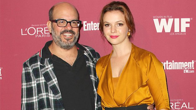 David Cross Weds Amber Tamblyn!