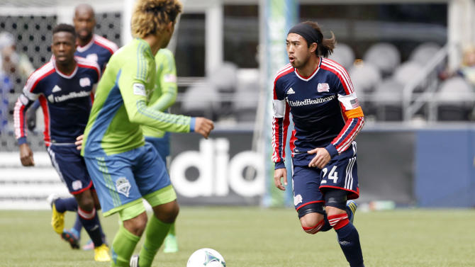 MLS: New England Revolution at Seattle Sounders