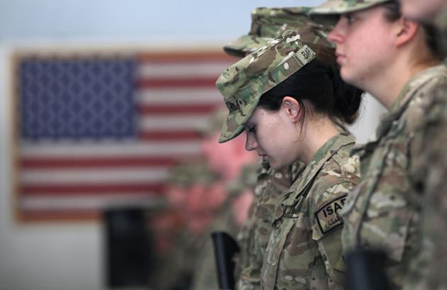 U.S. Soldiers Commemorate 9/11 Anniversary At Bagram Air Field