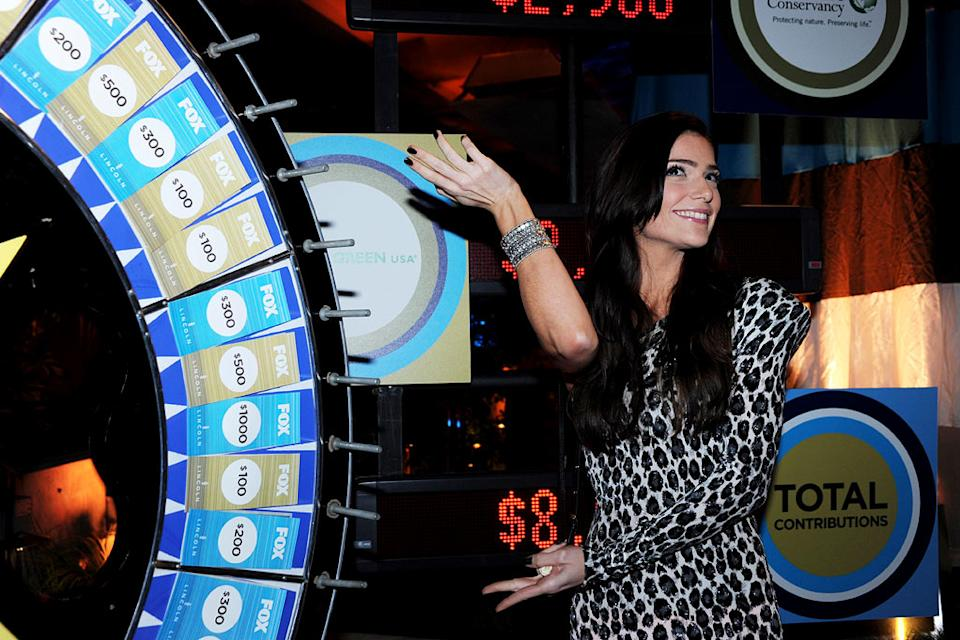 "Janet Montgomery of ""Human Target"" celebrates at the 2010 Fox Fall Eco-Casino party on September 13, 2010, at Boa in West Hollywood."