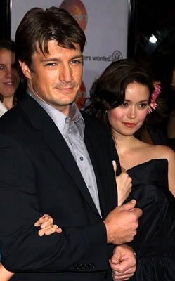 Premiere: Nathan Fillion and Summer Glau at the LA premiere for Universal Pictures' Serenity - 9/22/2005