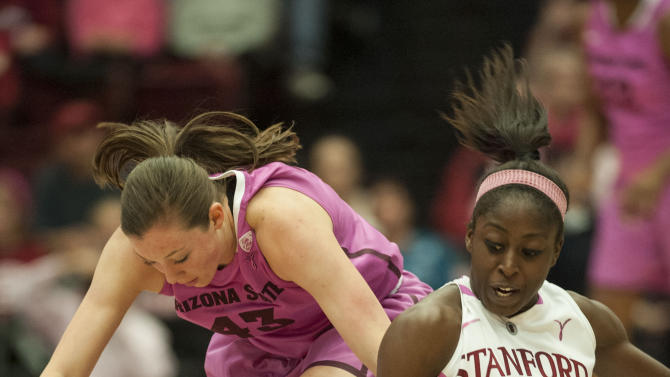NCAA Womens Basketball: Arizona State at Stanford