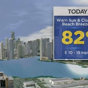 CBSMiami.com Weather 12/5/2013 Thursday 9AM