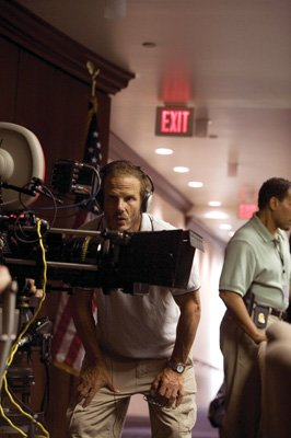 Director Peter Berg on the set of Universal Pictures' The Kingdom
