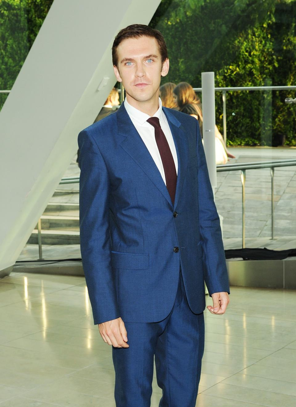 Actor Dan Stevens attends the 2013 CFDA Fashion Awards at Alice Tully Hall on Monday, June 3, 2013 in New York. (Photo by Evan Agostini/Invision/AP)