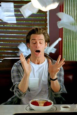 Jim Carrey in Universal's Bruce Almighty