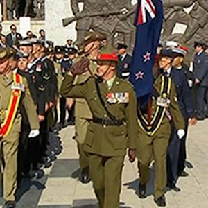 Raw: Foes Honor Gallipoli's Fallen 100 Years on