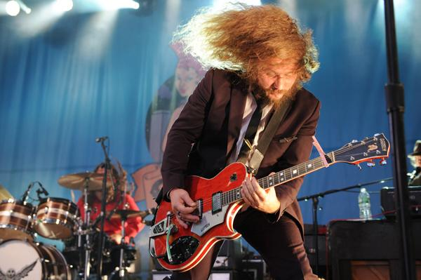 My Morning Jacket Rock Times Square at CBGB Festival