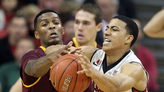 Carson's 40 points leads ASU over UNLV 86-80