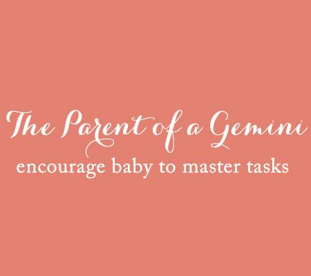 The Parent of a Gemini