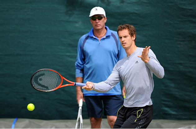 Tennis - Andy Murray and Ivan Lendl