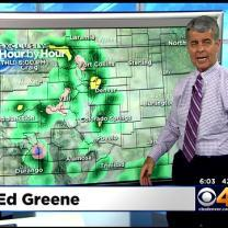 Wednesday Evening Forecast:  Yet Another Surge of Heavy Rain Headed for Colorado on Thursday