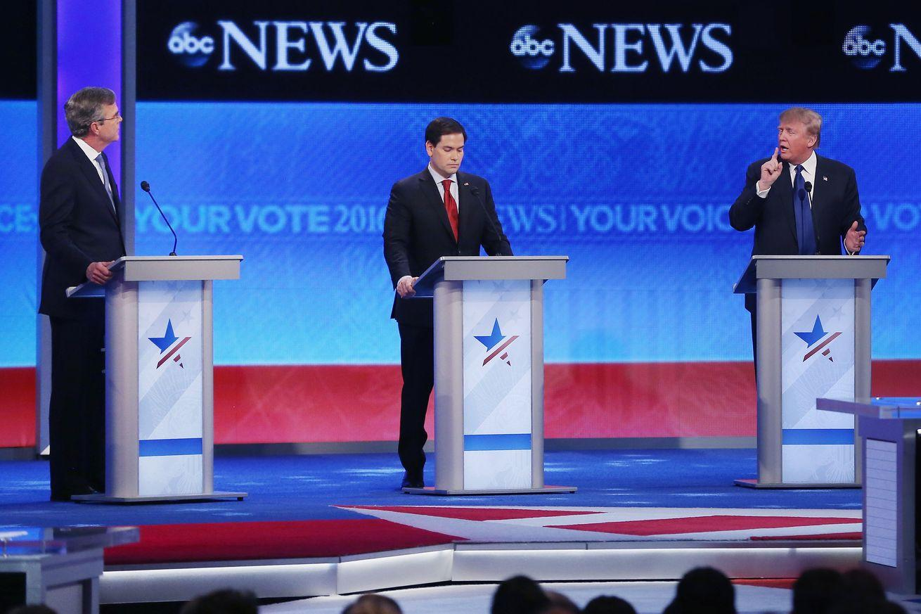 "Watch Marco Rubio ""short-circuit"" and repeat the same debate talking point again and again"