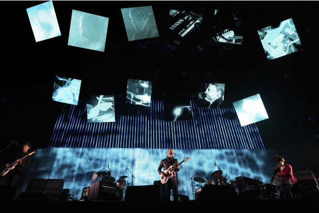 Radiohead performs at the Coachella Valley Music and Arts Festival in Indio