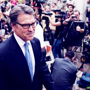 GOV. PERRY: INDICTMENT IS A 'POLITICAL ACT'