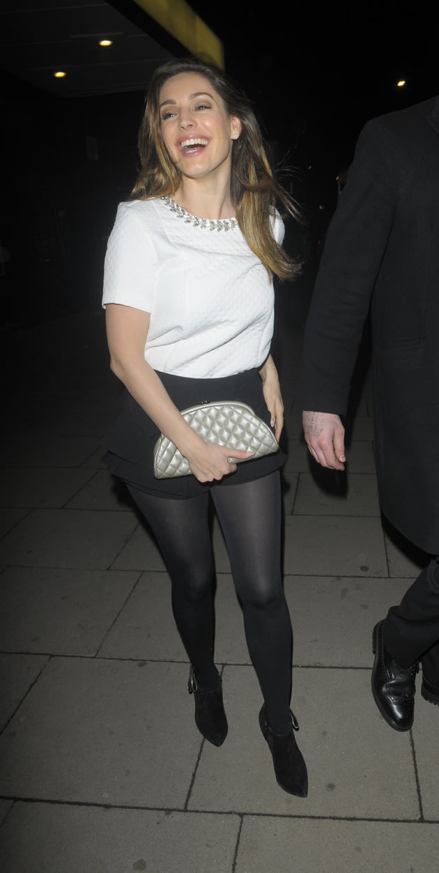 Kelly Brook leaving Justin Timberlake gig