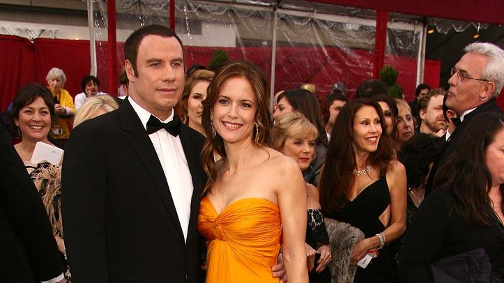Oscars 2008 John Travolta Kelly Preston