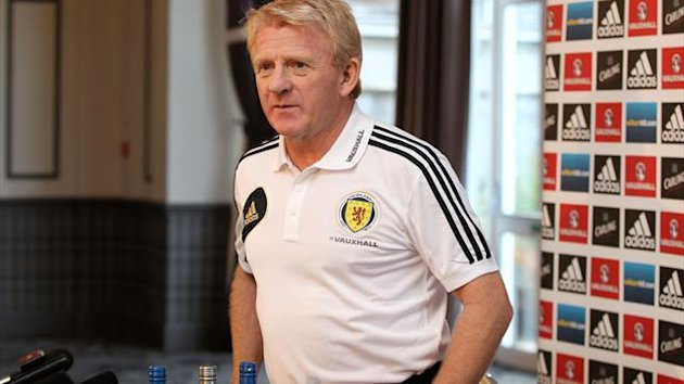 Gordon Strachan is happy with the attitude of his Scotland players