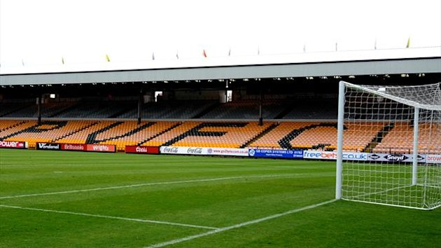 Vale Park, home of Port Vale (PA Photos)