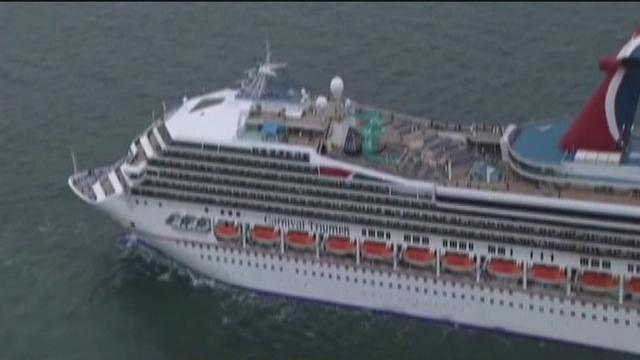 Cruise Ship Returns To Port