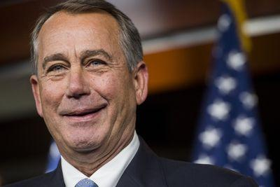 John Boehner's plan to let conservatives lash out without doing real damage is working