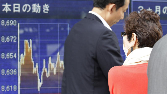 Markets inch up after G-8 vague on Europe fix
