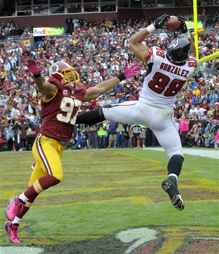Falcons Redskins Football