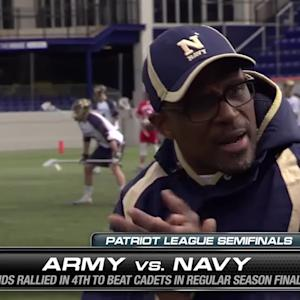 Navy vs. Army West Point MLAX Semifinal Preview