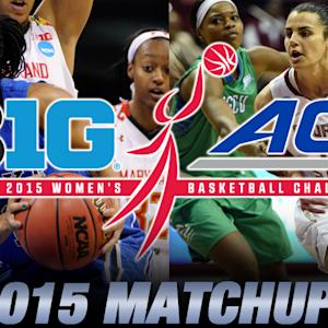 2015 WBB Big Ten/ACC Challenge Matchups Announced | ACC Now