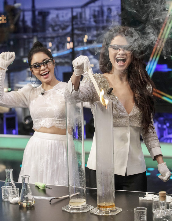 Selena Gomez and Vanessa Hudgens visit &amp;#39;El Hormiguero&amp;#39;