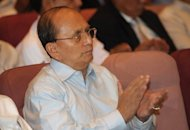 Myanmar leader Thein Sein (pictured in July) is to visit the United States for the first time as president of the fast-reforming nation, officials said, after Washington waived visa restrictions. Thein Sein will travel to the US to attend a United Nations General Assembly, at the end of September