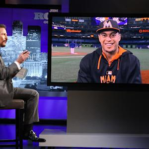 Giancarlo Stanton Names MLB All-Time Home Run King - Jim Rome on SHOWTIME