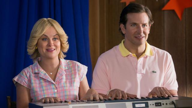 Amy Poehler and Bradley Cooper Get Back into Character for the 'WHAS' Series