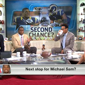 Next stop for Michael Sam?