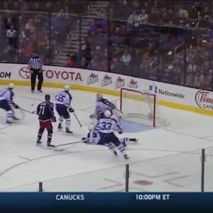 Michael Hutchinson Save on Nick Foligno (06:30/3rd)