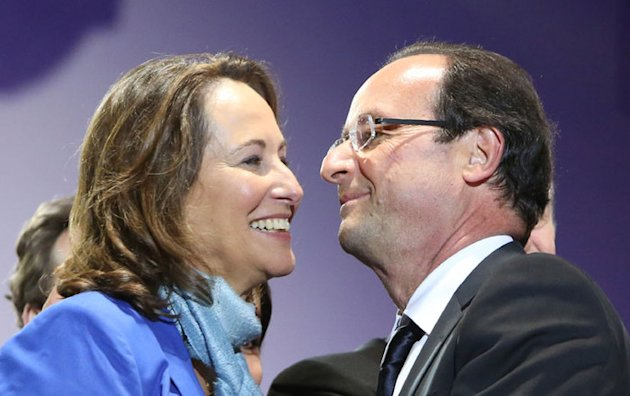 Franois Hollande :  Vous avez vu comme elle est belle ? 