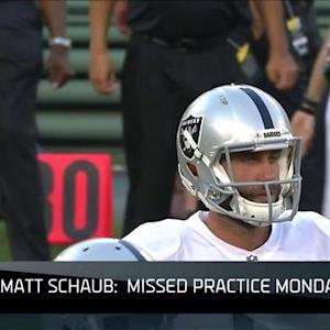 NFL NOW: Breaking down Oakland Raiders' QB battle