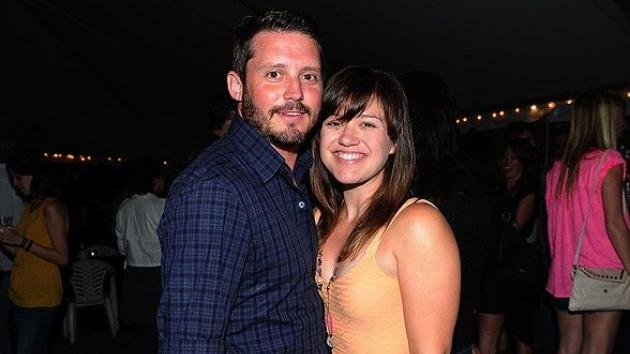 Brandon Blackstock and Kelly Clarkson in Nashville on May 31, 2012 -- Getty Images