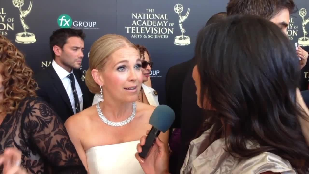 Red Carpet Chat: Melissa Reeves (Daytime Emmys 2014)