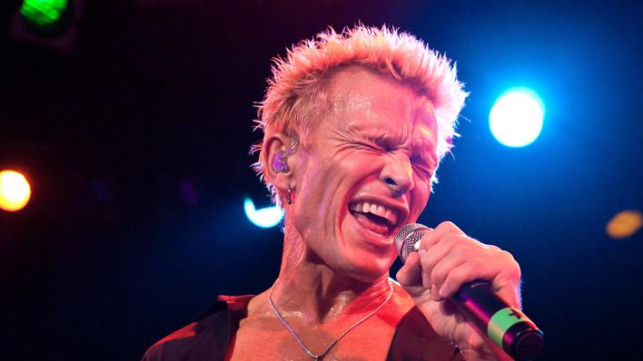 Billy Idol Performance With Camp Freddy Roxy Theatre