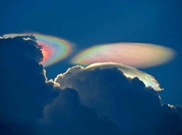 Amazing Photo: 'Fire Rainbow' Over South Florida