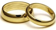Wedding rings.