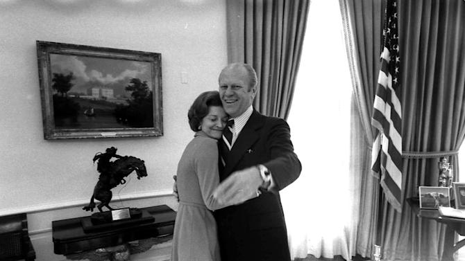 Gerald Ford, Betty Ford
