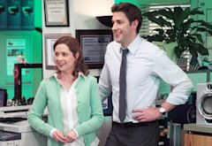 Jenna Fischer, John Krasinski | Photo Credits: Chris Haston/NBC