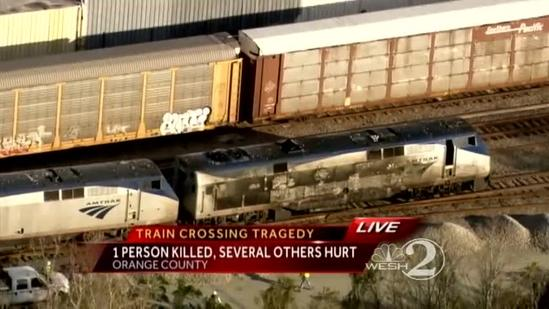 Truck 'disintegrated' in fatal crash with Amtrak train in Orlando